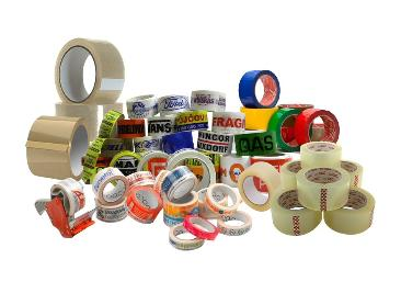 Printed carton sealing tape